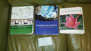 Red River College, Business Administration Textbooks