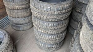 Set of 4 Bridgestone Blizzak LM60 255/50R19 WINTER tires (60% tr