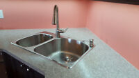 Stainless Steel Top-mount Kitchen Double Sink