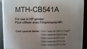 For Sale: CYMK LASER print cartridges. Brand new, unopened.