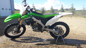 2013 Kx250f. $4800 obo. Comes with sand tire