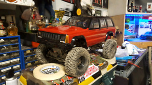 RC Scale Crawler SCX10