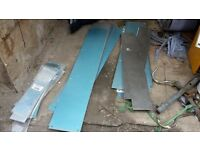 Kick plates and finger plates - for commercial doors