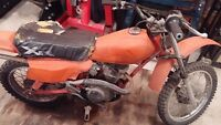 1984 honda xr80 dirt bike for sale