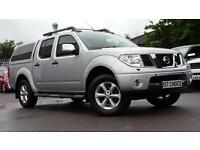 2007 NISSAN NAVARA OUTLAW DCI 4X4 SWB SHR D/C LOW MILEAGE 1 OWNER PICK UP DI