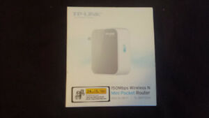 TP Link 150Mbps Wireless N Mini Pocket Router - Brand New