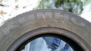 4 pneus d'été Khumo P185/65 R14
