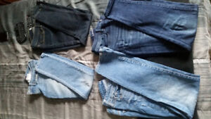 Levis and AE jeans