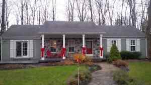 Christmas at the cottage.......cottage for rent.