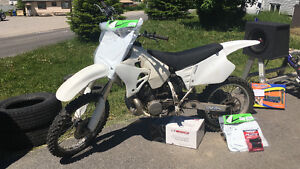 Dirt bike Honda cr250