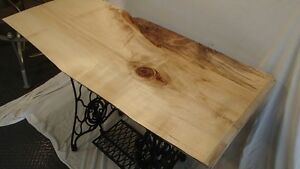 41 Inch Live Edge Singer side table Regina Regina Area image 3
