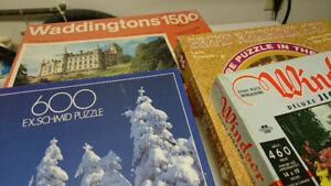 Puzzles with 460 to 1500 Pieces