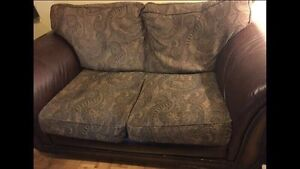 Free delivery - very comfy Loveseat sofa & Chaise Lounger couch