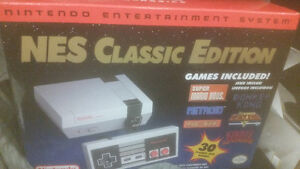 NiNTENDO NES CLASSIC EDITION UNTOUCH AND UNOPENED BOX PIECE