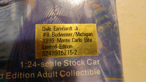 Dale earnhardt jr 1999 limited edition model car