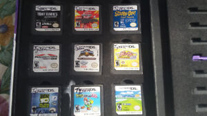 Nintendo DS Games with Case