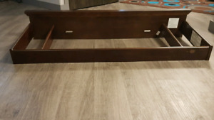 Changing table top