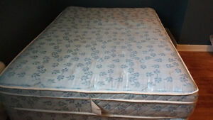 Sears double mattress and box spring
