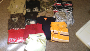 Mens size xl shirt lot 12 shirts