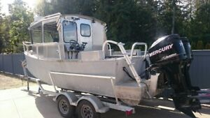 NEW 2015 26' Custom Aluminum Fishing Boat