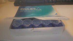 Dailies aquaComfort plus daily contact lenses -3.5