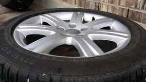225 50 17 Audi | VW OE WHEELS  AND  WINTER TIRES 17""