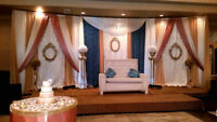 Elegant backdrops for any event