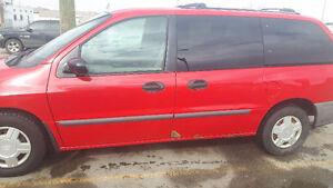 2001 Ford Windstar LX Minivan, Van