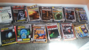 For sale: copies of Fortean Times magazine
