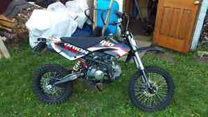 2014 hip dirtbike (trade for older snow machine)