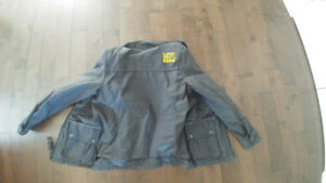 Superdry 'Ton-Up' 58 Motorcycle Jacket - Wax Leather - XL