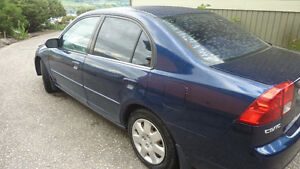 2002 Honda Civic Sedan $2100