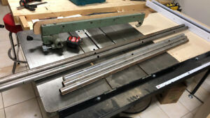 General 350 table saw fence system