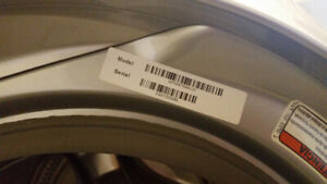 Whirlpool Duet steam washer parts only bearing failing