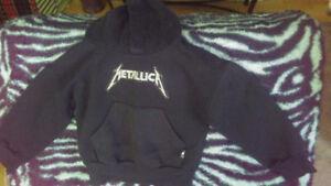 Childs METALLICA hoodie size 2