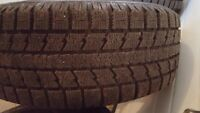 Toyo tires 235 60 r17 500$ for all four