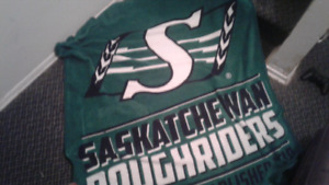 Regina Roughriders blanket