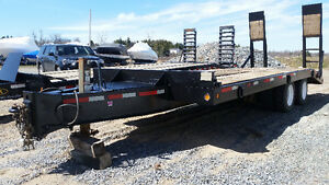 20 Ton Float Trailer with air brakes