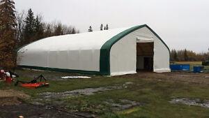 NEW FABRIC STORAGE STEEL FRAMED BUILDING EQUIPMENT GRAIN FARM