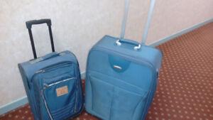 "2 Luggage Samsonite Luggage 26"" & Levi Strauss carry on Luggage"