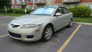 2006 Mazda6 with new brakes and Michelin winter tires
