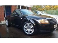 2006 06 Audi TT Coupe 1.8T 190BHP 103000MLS MOT'D OCT 18 FSH 1 PREV OWNER BOSE