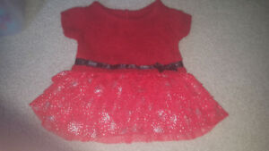 0-3 month baby dress excellent condition warn once