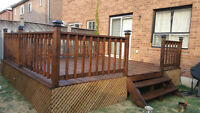 Deck Repair and Install New