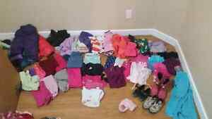 Lots of clothes 3-4 yrs girl