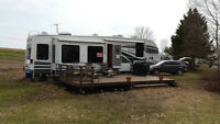 2006 Glendale Titanium 39 foot 34E39QS 5th-Wheel trailer