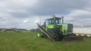 Steiger st 270 4wd  cougar with blade and snow wing