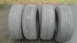 P265/70R17 tires $80.00 for set of 4