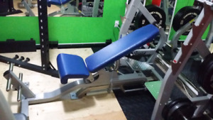 Commercial Hoist 3 Way Olympic Bench Press
