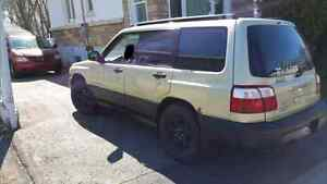 Subaru Forester 2002 / 2700$ négociable